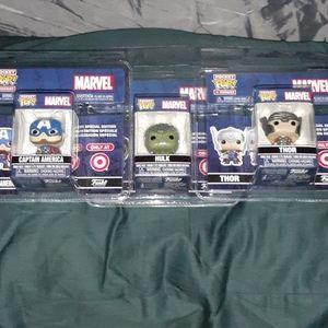 Lot of 3 - Funko Pocket Pops - Marvel Comics